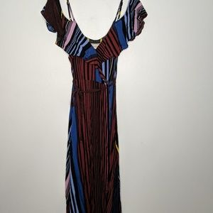 Flying tomato striped dress